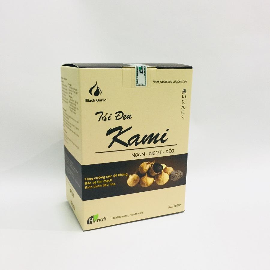 Tỏi đen cô đơn Kami hộp 250g nguyên vỏ - 1709885 , 1738440400812 , 62_11877152 , 275000 , Toi-den-co-don-Kami-hop-250g-nguyen-vo-62_11877152 , tiki.vn , Tỏi đen cô đơn Kami hộp 250g nguyên vỏ