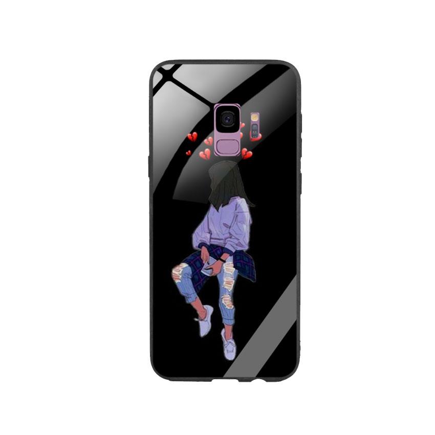 Ốp Lưng Kính Cường Lực cho điện thoại Samsung Galaxy S9 - Alone 05
