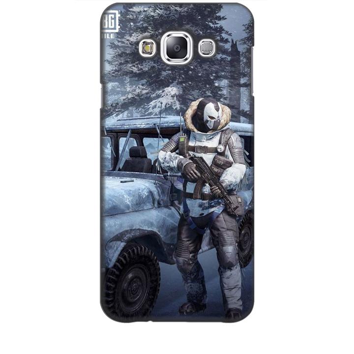 Ốp lưng dành cho điện thoại  SAMSUNG GALAXY E7 hình PUBG Mẫu 15