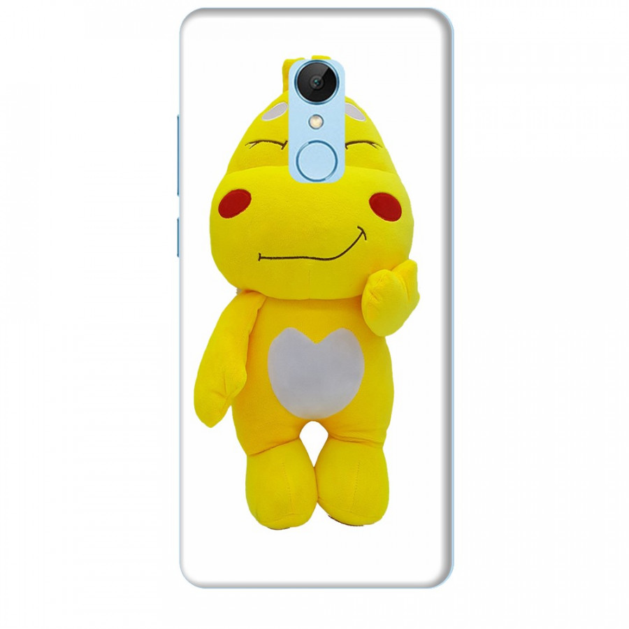 Ốp lưng dành cho điện thoại XIAOMI REDMI 5 Khủng Long lai Ong QooBee Agapi Mẫu 2