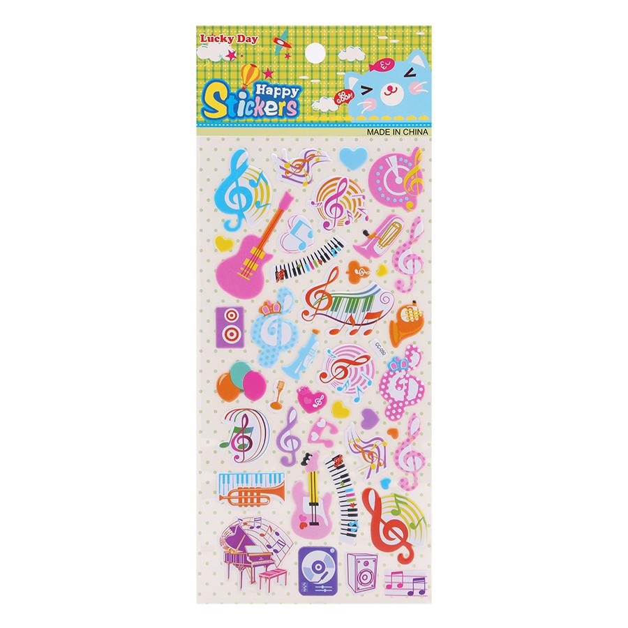 Sticker Dán Nổi Cho Bé - CC050