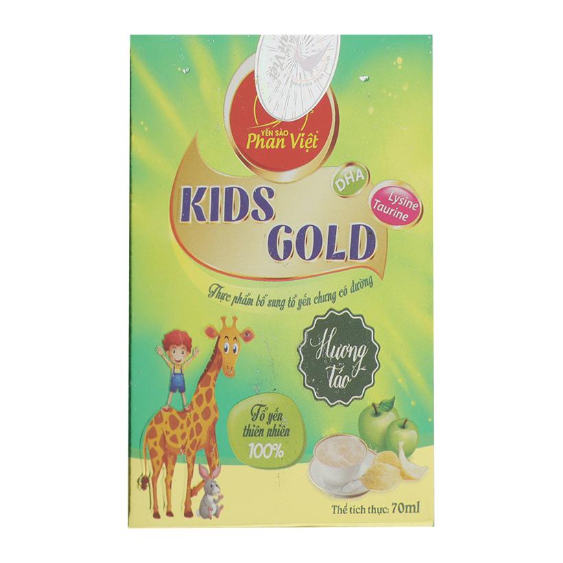Tổ Yến Chưng Có Đường Kids Gold Hương Táo Phan Việt - 1382524 , 7583476214612 , 62_6764059 , 38000 , To-Yen-Chung-Co-Duong-Kids-Gold-Huong-Tao-Phan-Viet-62_6764059 , tiki.vn , Tổ Yến Chưng Có Đường Kids Gold Hương Táo Phan Việt