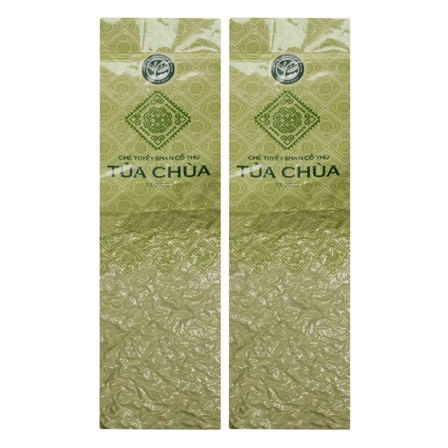 Combo 2 Túi Chè Tuyết Shan Tủa Chùa Dien Bien Food (200g / Túi)