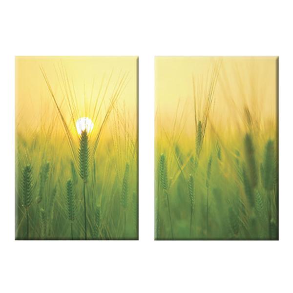 """Bộ 2 Tranh Canvas """"Nắng Sớm"""" - W123"""