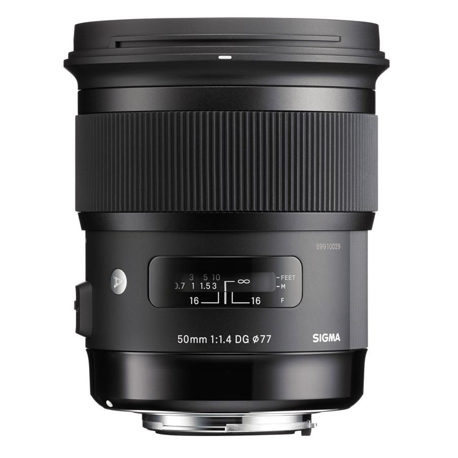 Ống Kính Sigma 50mm F1.4 DG HSM Art For Nikon - Hàng Chính Hãng