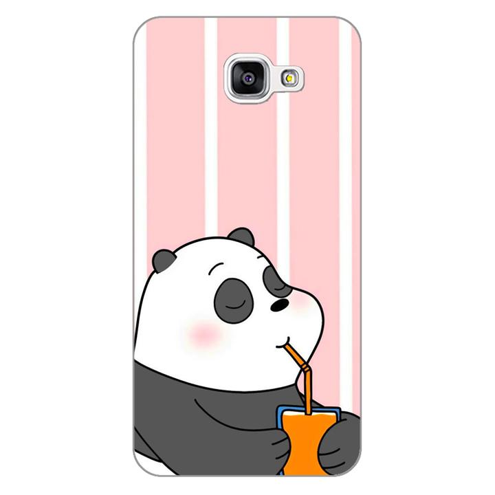 Ốp lưng dẻo Nettacase cho điện thoại Samsung Galaxy A9 _0399 PANDA06 - Hàng Chính Hãng