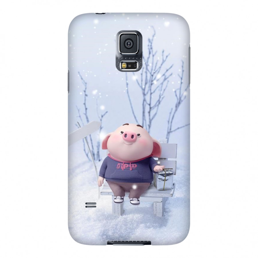 Ốp Lưng Cho Điện Thoại Samsung Galaxy S5 - Mẫu heocon 012
