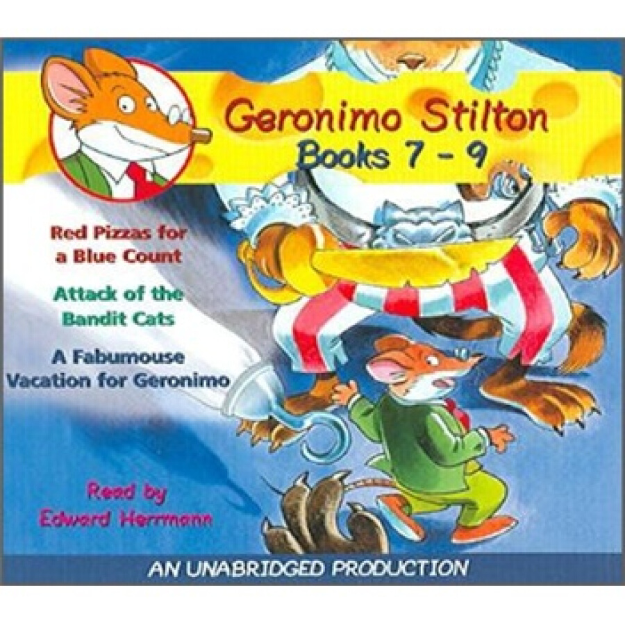 Geronimo Stilton: Books 7-9 (Audio CD)