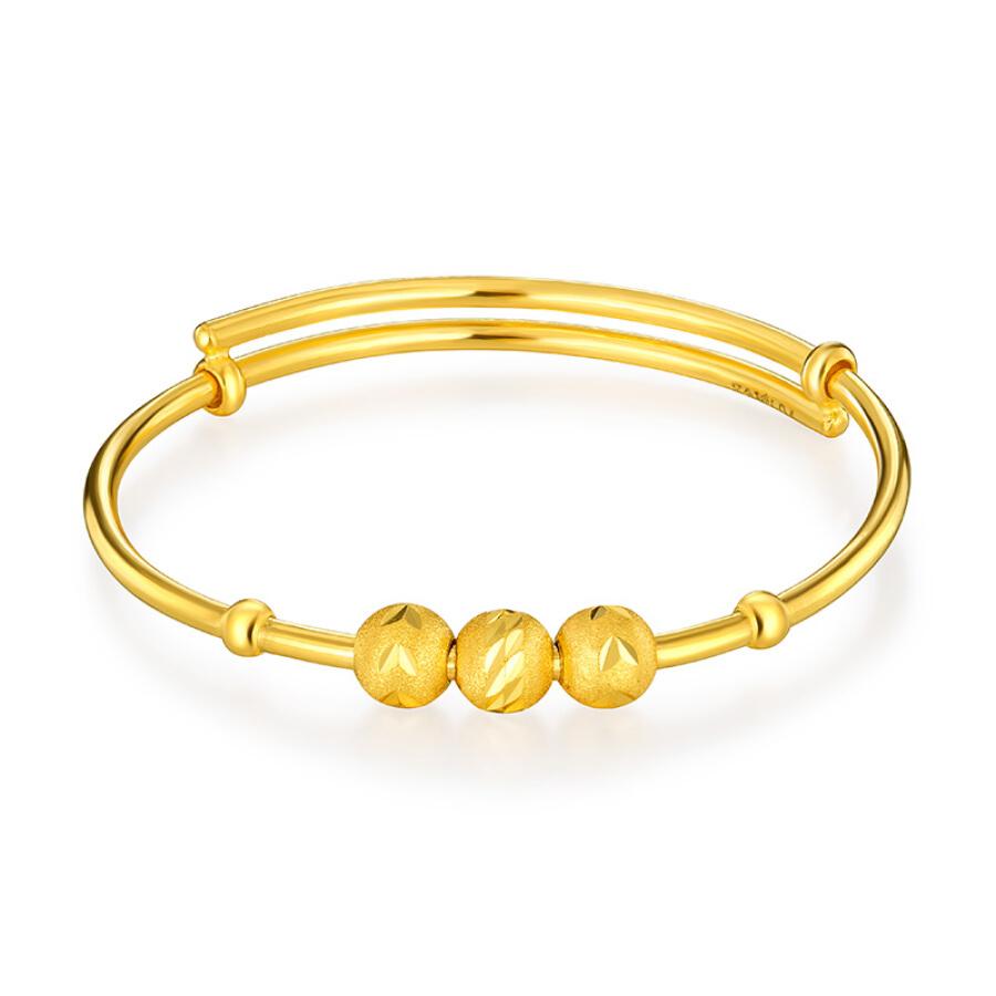 Vòng Tay Vàng Em Bé Luk Fook Jewellery L04TBGB0002 (6.05g)