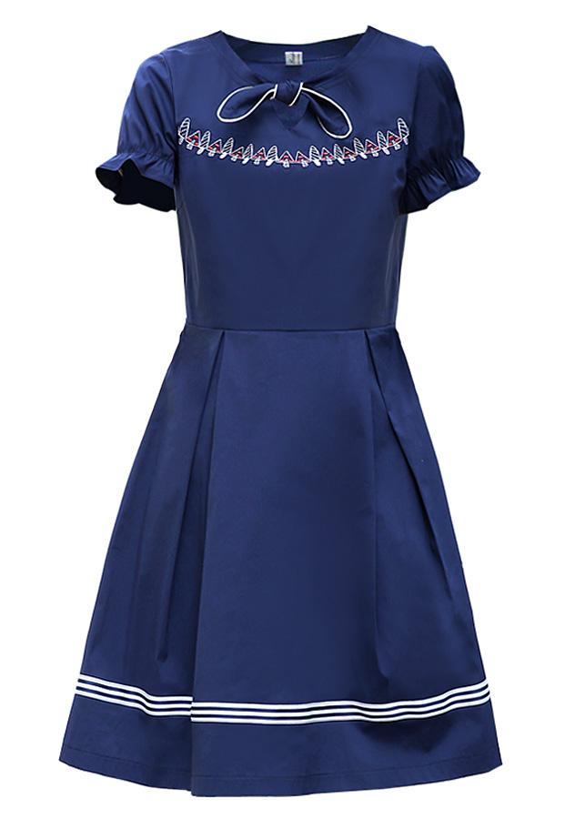 Đầm Baby Doll Nữ Thắt Nơ Cổ 908