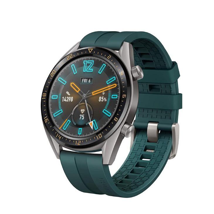 Đồng hồ Huawei GT Active dây xanh + tặng kèm dây cao su màu đen - Hàng chính hãng