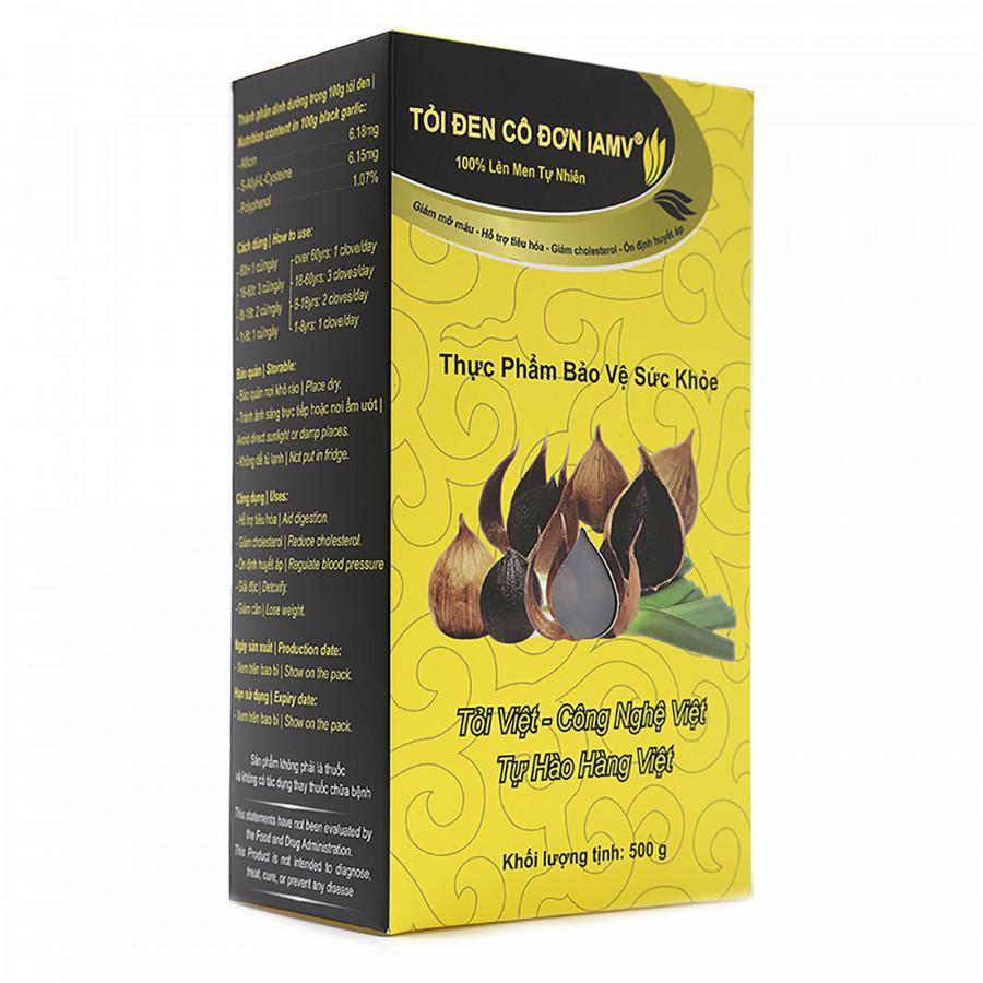 Thực phẩm chức năng Tỏi Đen Cô Đơn IAmV hộp 500gr - 6221890 , 1904293457253 , 62_9954471 , 1045000 , Thuc-pham-chuc-nang-Toi-Den-Co-Don-IAmV-hop-500gr-62_9954471 , tiki.vn , Thực phẩm chức năng Tỏi Đen Cô Đơn IAmV hộp 500gr