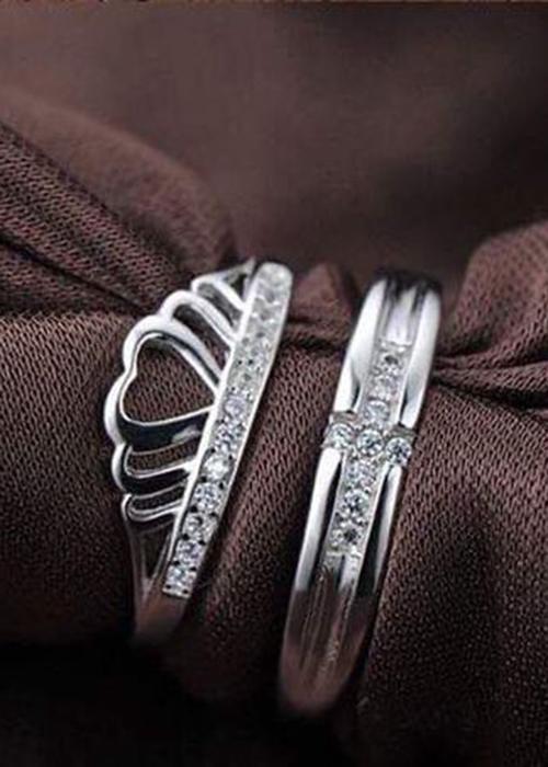 Nhẫn đôi bạc cao cấp NS448 - 16763193 , 1963360118893 , 62_28631269 , 700000 , Nhan-doi-bac-cao-cap-NS448-62_28631269 , tiki.vn , Nhẫn đôi bạc cao cấp NS448