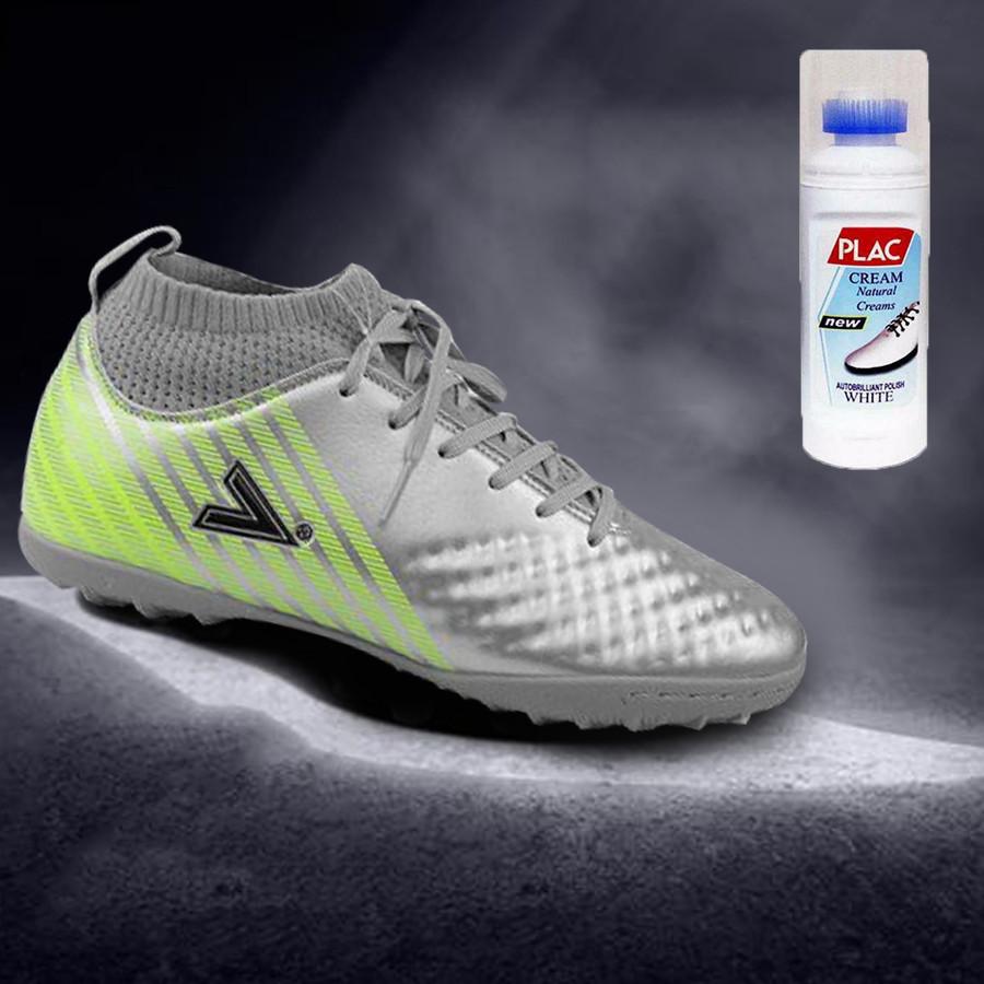 Giày bóng đá Mitre MT170434 màu bạc - Tặng bình làm sạch giày cao cấp - 1519500 , 6510009091038 , 62_14767965 , 789000 , Giay-bong-da-Mitre-MT170434-mau-bac-Tang-binh-lam-sach-giay-cao-cap-62_14767965 , tiki.vn , Giày bóng đá Mitre MT170434 màu bạc - Tặng bình làm sạch giày cao cấp