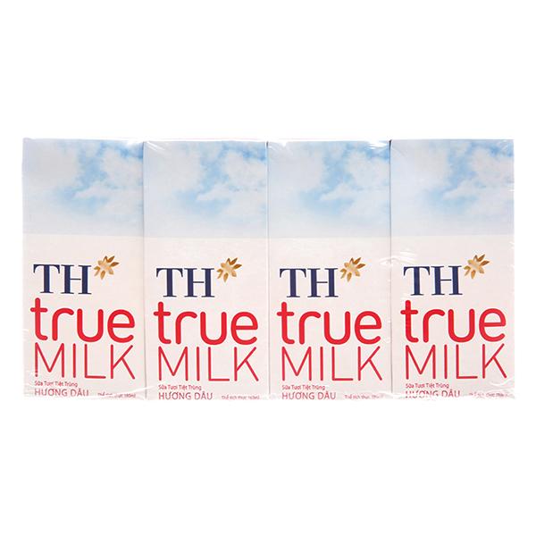 Lốc 4 Hộp Sữa Tươi Tiệt Trùng Hương Dâu TH True Milk (180ml/Hộp) - 9558465 , 8935217400256 , 62_14936145 , 32000 , Loc-4-Hop-Sua-Tuoi-Tiet-Trung-Huong-Dau-TH-True-Milk-180ml-Hop-62_14936145 , tiki.vn , Lốc 4 Hộp Sữa Tươi Tiệt Trùng Hương Dâu TH True Milk (180ml/Hộp)