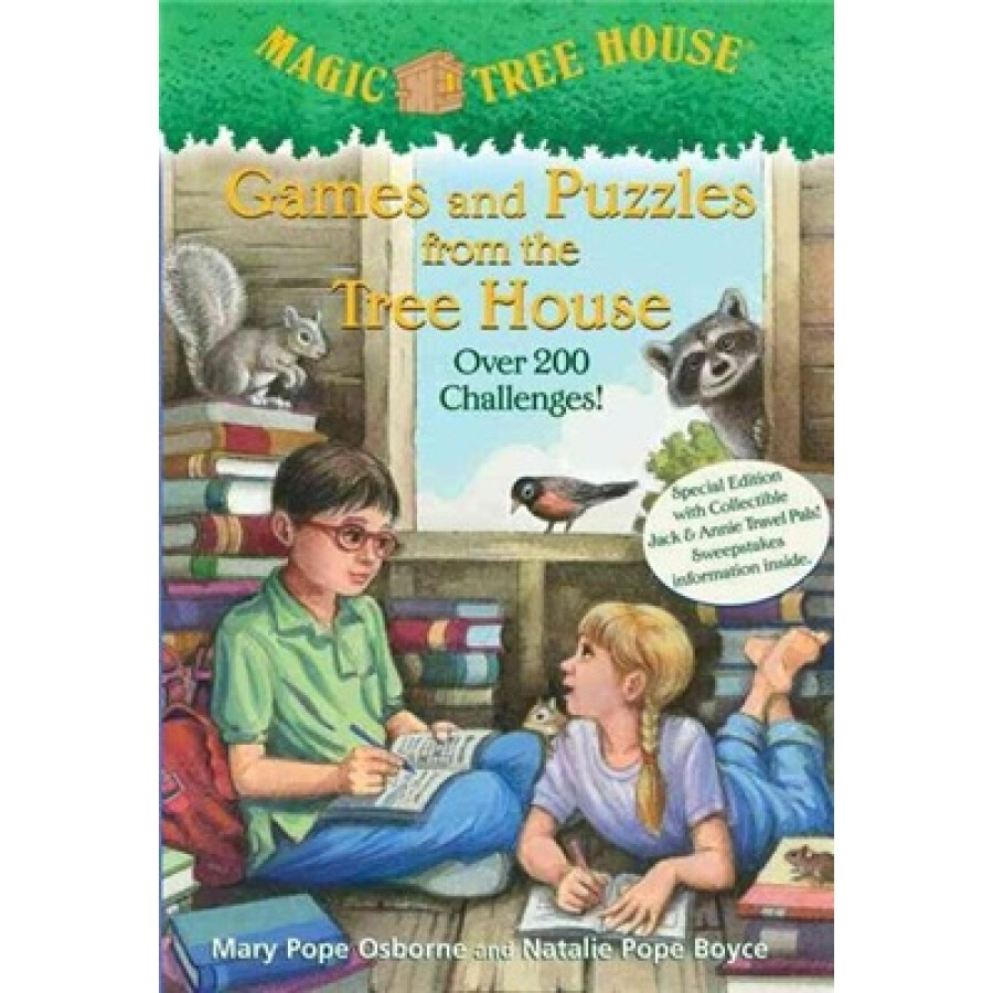 Magic Tree House Games and Puzzles from the Tree House