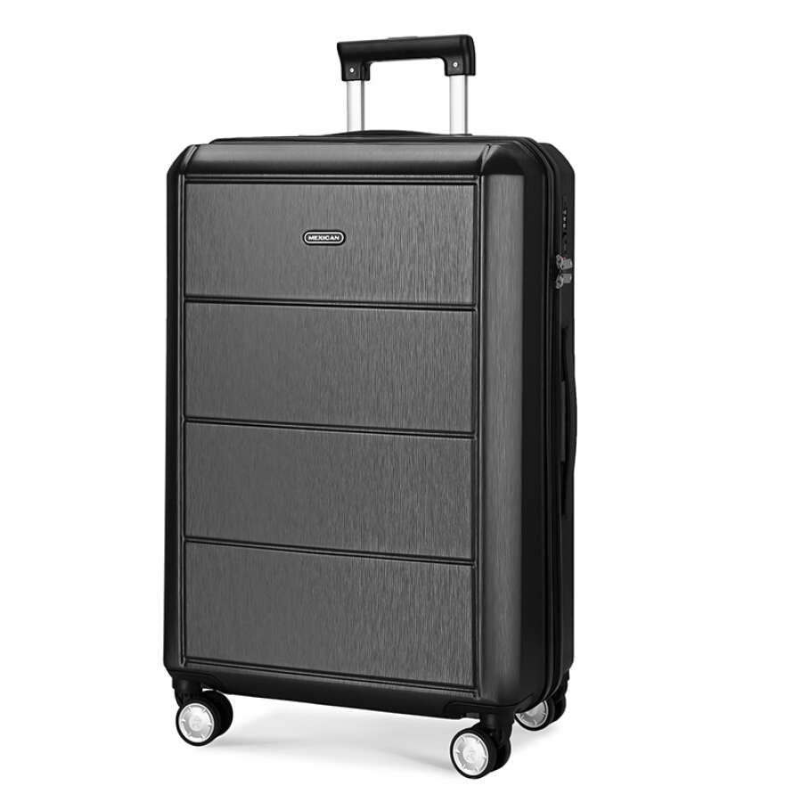 Scarecrow (MEXICAN) trolley case for men and women 24 inch large capacity luggage brushed scratch-resistant design universal wheel mute customs...