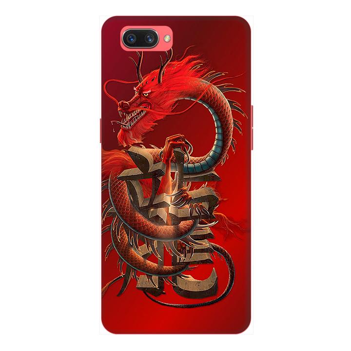 Ốp lưng điện thoại Realme C1 hình Rồng Đỏ