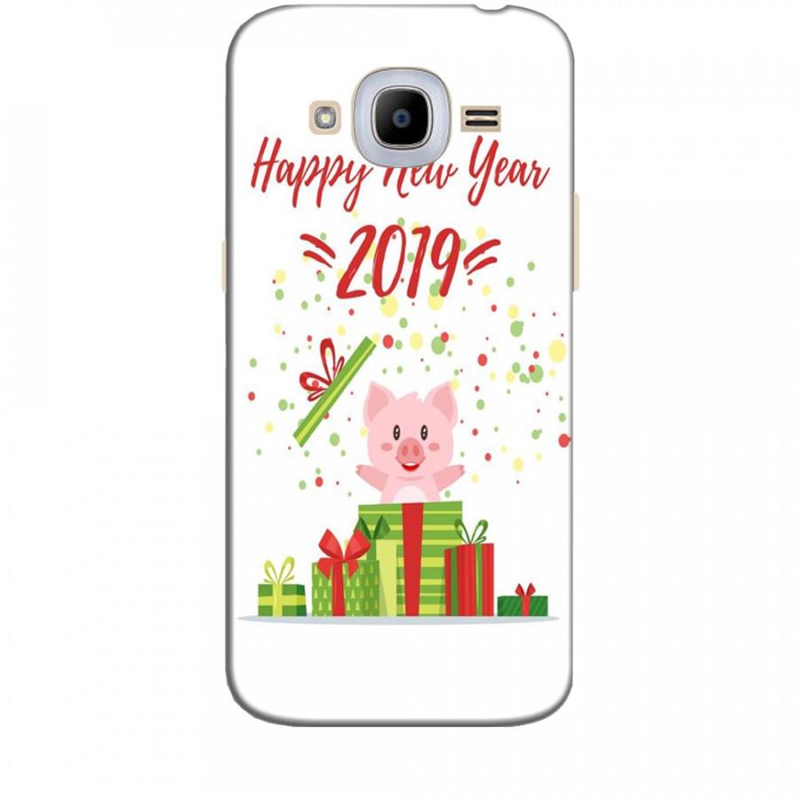Ốp lưng dành cho điện thoại  SAMSUNG GALAXY J2 2016 Happy New Year Mẫu 3