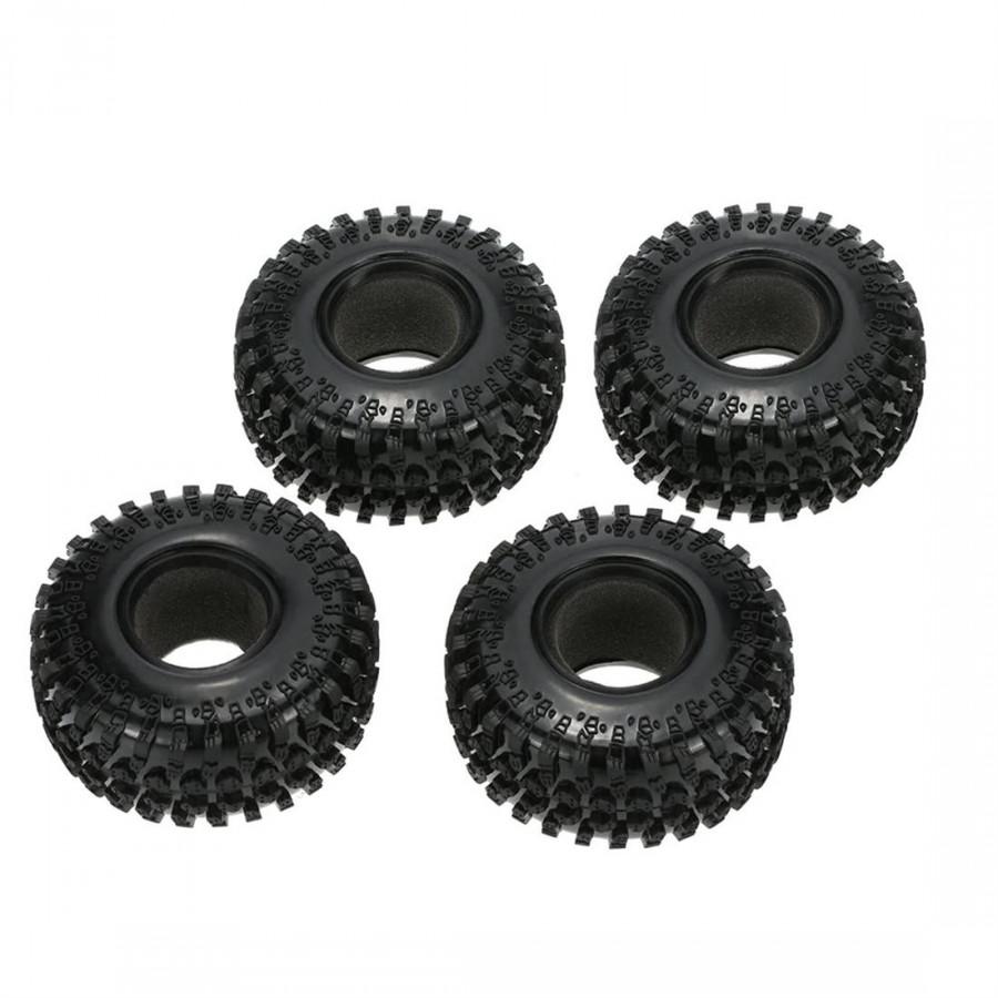 Bộ 4 Lốp Xe Thay Thế Austar Cho Xe Điều Khiển RC 1/10 Rock Crawler RC4WD D90 Axial SCX10