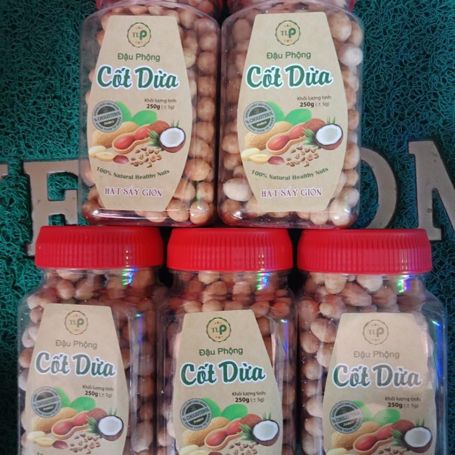Combo 5 hũ đậu phông da cá cốt dừa Tân Lộc Phát