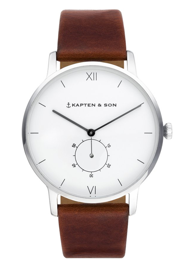 Đồng Hồ Unisex Dây Da Kapten  Son Heritage Silver Brown Leather - 7355208 , 7491900315357 , 62_15166631 , 4679000 , Dong-Ho-Unisex-Day-Da-Kapten-Son-Heritage-Silver-Brown-Leather-62_15166631 , tiki.vn , Đồng Hồ Unisex Dây Da Kapten  Son Heritage Silver Brown Leather