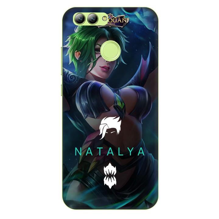 Ốp lưng nhựa cứng nhám dành cho Huawei Nova 2 in hình Natalya