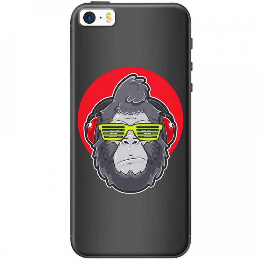 Ốp lưng dành cho iPhone 5, iPhone 5S, iPhone SE mẫu Tinh tinh mắt kính