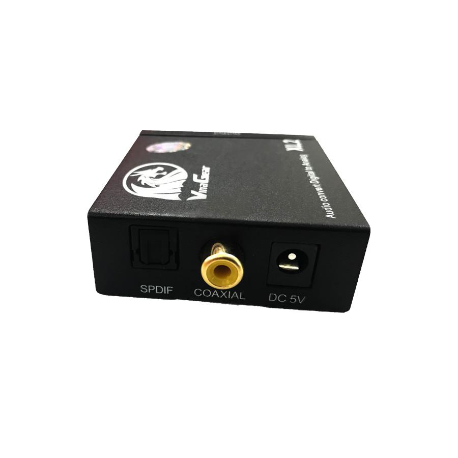 Bộ chuyển đổi âm thanh Optical to AV chính hãng Vinagear, Công Suất Lớn, Có Cổng Out L/R và 3.5mm - 754796 , 1940377477526 , 62_8056196 , 250000 , Bo-chuyen-doi-am-thanh-Optical-to-AV-chinh-hang-Vinagear-Cong-Suat-Lon-Co-Cong-Out-L-R-va-3.5mm-62_8056196 , tiki.vn , Bộ chuyển đổi âm thanh Optical to AV chính hãng Vinagear, Công Suất Lớn, Có Cổng Out