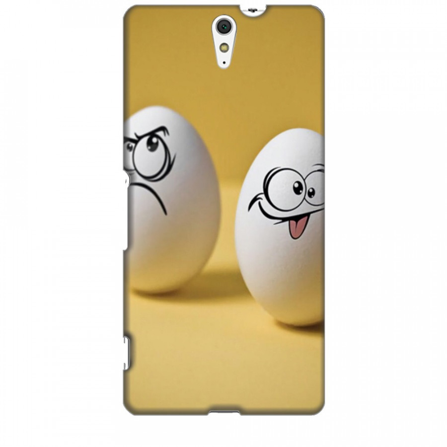 Ốp lưng dành cho điện thoại SONY C5 ULTRA Đôi Bạn Trứng Cute