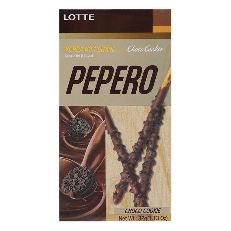 Bánh que Lotte Pepero Choco Cookie 32g - 1469606 , 6142077577147 , 62_14599215 , 21000 , Banh-que-Lotte-Pepero-Choco-Cookie-32g-62_14599215 , tiki.vn , Bánh que Lotte Pepero Choco Cookie 32g