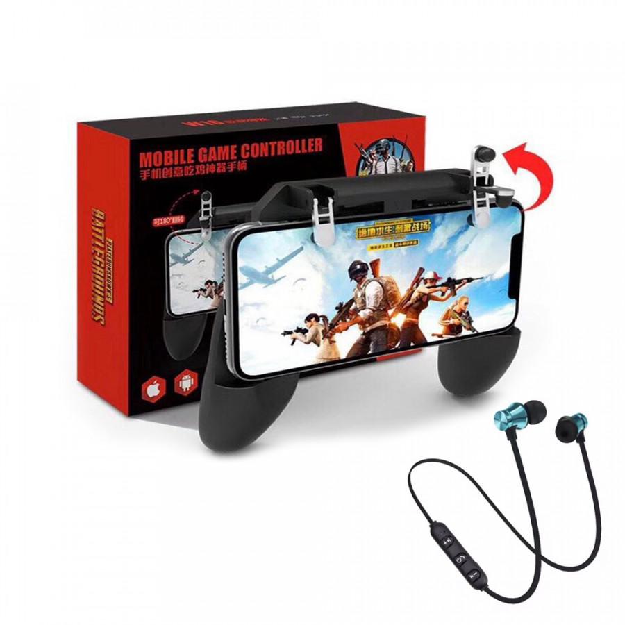 Tay cầm chơi game PUBG mobile W10 tay gắn điện thoại kèm nút bắn - Tặng tai nghe bluetooth không dây - 1831750 , 4946649500340 , 62_13668088 , 330000 , Tay-cam-choi-game-PUBG-mobile-W10-tay-gan-dien-thoai-kem-nut-ban-Tang-tai-nghe-bluetooth-khong-day-62_13668088 , tiki.vn , Tay cầm chơi game PUBG mobile W10 tay gắn điện thoại kèm nút bắn - Tặng tai ng
