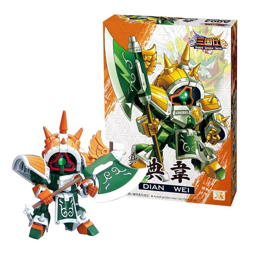 Bộ Lắp ghép Gundam Điển Vi - Đồ chơi Xếp Hình Tam Quốc A003 - 799695 , 1164086484341 , 62_13592698 , 199000 , Bo-Lap-ghep-Gundam-Dien-Vi-Do-choi-Xep-Hinh-Tam-Quoc-A003-62_13592698 , tiki.vn , Bộ Lắp ghép Gundam Điển Vi - Đồ chơi Xếp Hình Tam Quốc A003