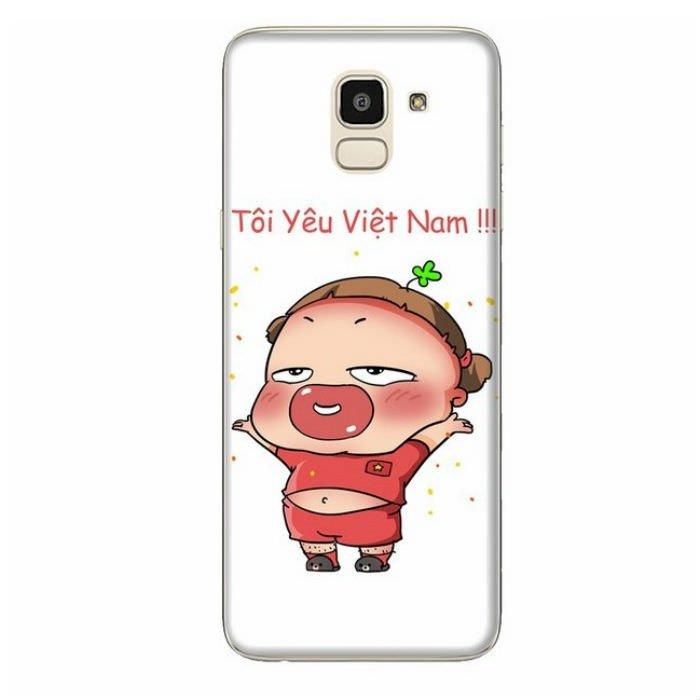 Ốp Lưng Dành Cho Samsung Galaxy J6 2018 Quynh Aka 1