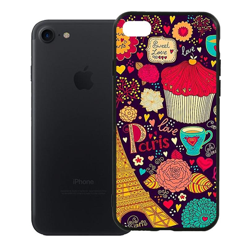 Ốp Lưng Viền TPU Cao Cấp Dành Cho iPhone 7 - Paris 04