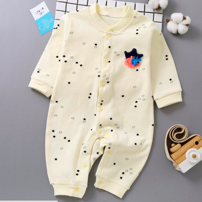 Áo liền quần cho bé sơ sinh hoa văn ngôi sao đáng yêu 101 - 1936325 , 9822786985392 , 62_13148894 , 308000 , Ao-lien-quan-cho-be-so-sinh-hoa-van-ngoi-sao-dang-yeu-101-62_13148894 , tiki.vn , Áo liền quần cho bé sơ sinh hoa văn ngôi sao đáng yêu 101