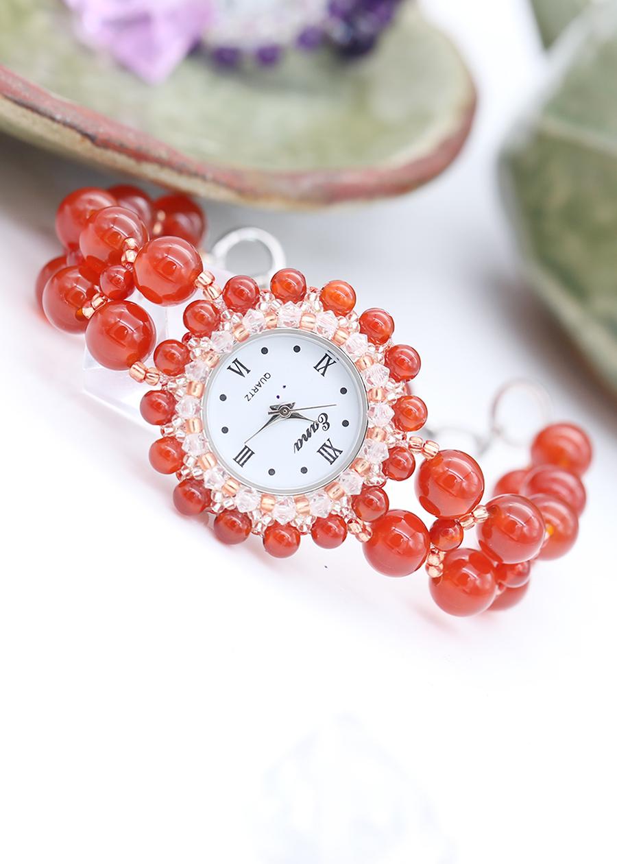 Đồng Hồ Mix Đá Mã Não Đỏ DHN08 Bảo Ngọc Jewelry - 1663382 , 2789056807907 , 62_11530725 , 1444000 , Dong-Ho-Mix-Da-Ma-Nao-Do-DHN08-Bao-Ngoc-Jewelry-62_11530725 , tiki.vn , Đồng Hồ Mix Đá Mã Não Đỏ DHN08 Bảo Ngọc Jewelry