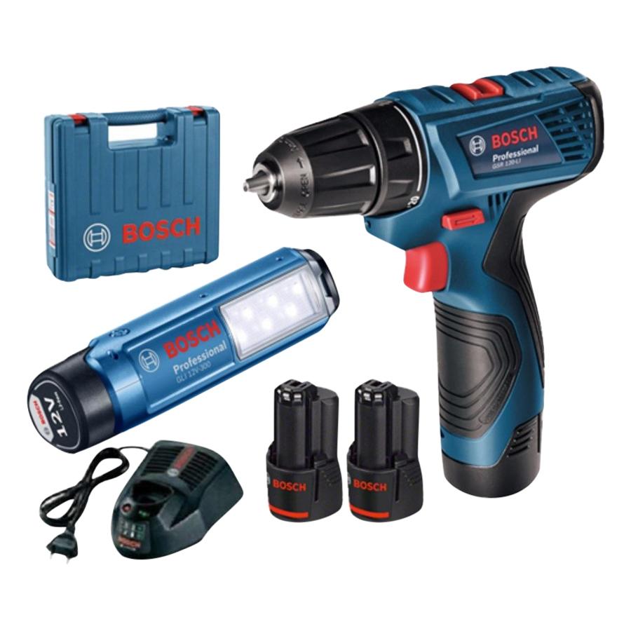 Bộ Combo Máy Khoan Vặn Vít Dùng Pin Bosch + Đèn Pin GSR 120-LI + GLI 120-LI (2 Pin 1.5 Ah + 1 Sạc) - 1021636 , 5723131577412 , 62_11266206 , 3660000 , Bo-Combo-May-Khoan-Van-Vit-Dung-Pin-Bosch-Den-Pin-GSR-120-LI-GLI-120-LI-2-Pin-1.5-Ah-1-Sac-62_11266206 , tiki.vn , Bộ Combo Máy Khoan Vặn Vít Dùng Pin Bosch + Đèn Pin GSR 120-LI + GLI 120-LI (2 Pin 1.