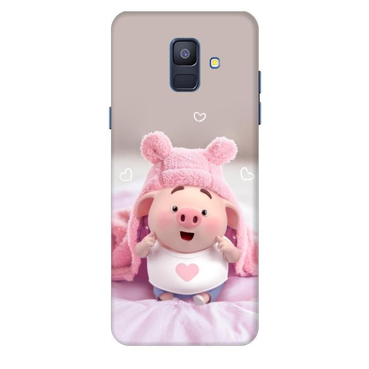 Ốp lưng nhựa cứng nhám dành cho Samsung Galaxy A6 2018 in hình Heo Con Làm Duyên - 1275895 , 9458387482871 , 62_11499952 , 150000 , Op-lung-nhua-cung-nham-danh-cho-Samsung-Galaxy-A6-2018-in-hinh-Heo-Con-Lam-Duyen-62_11499952 , tiki.vn , Ốp lưng nhựa cứng nhám dành cho Samsung Galaxy A6 2018 in hình Heo Con Làm Duyên