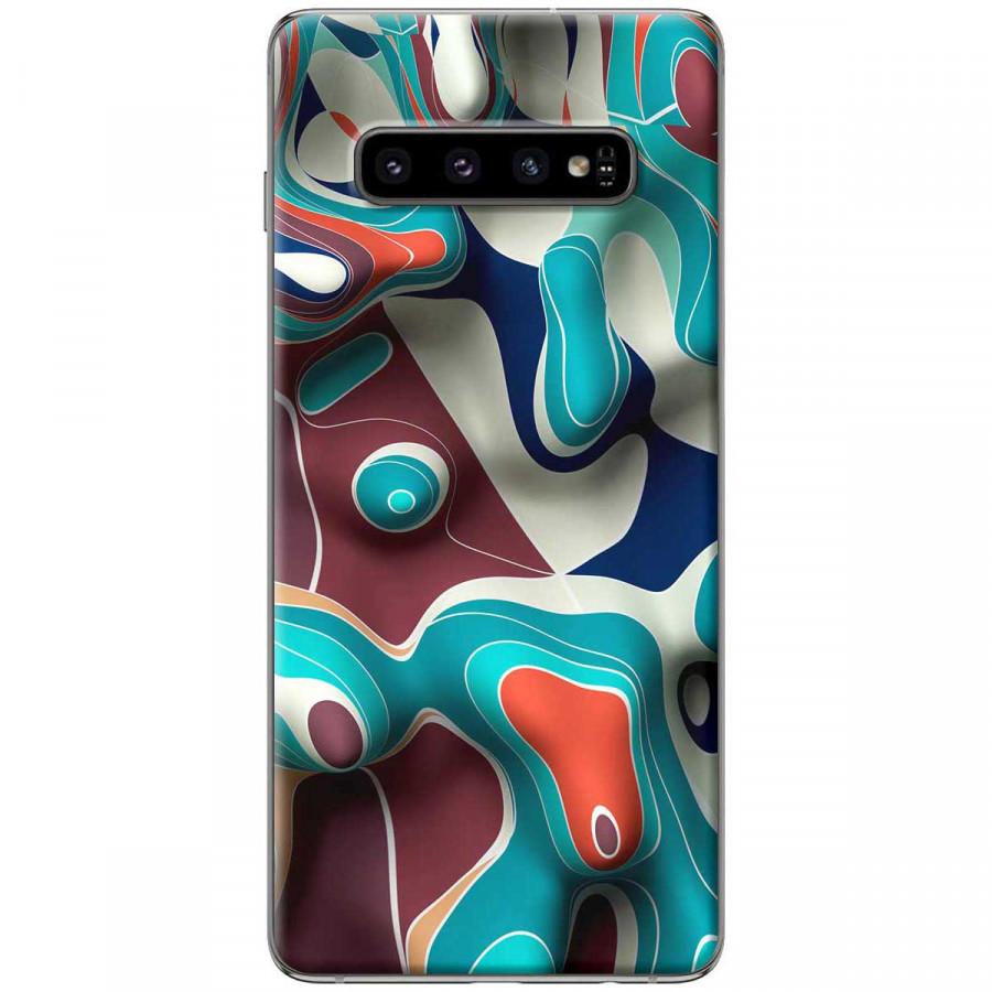 Ốp lưng dành cho Samsung S10 Plus Loang màu