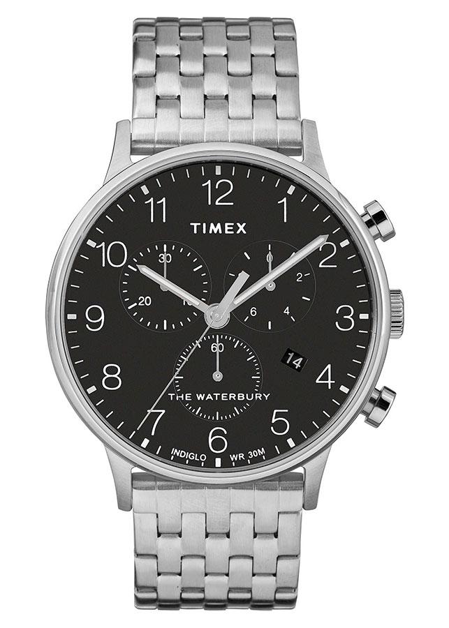 Đồng Hồ Nam Dây Kim Loại Timex Waterbury Classic Chronograph 40mm - TW2R71900