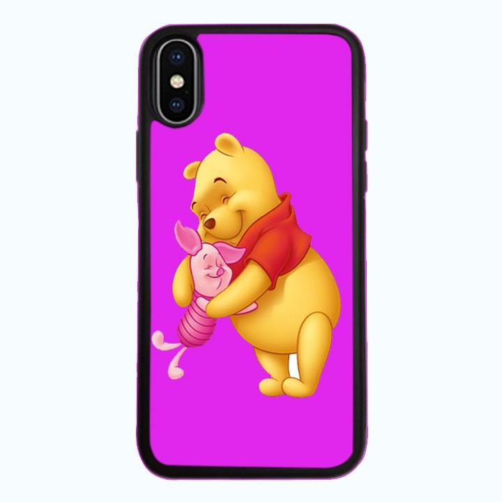 Ốp lưng dành cho điện thoại iPhone XR - X/XS - XS MAX - Gấu Pooh Mẫu 0001