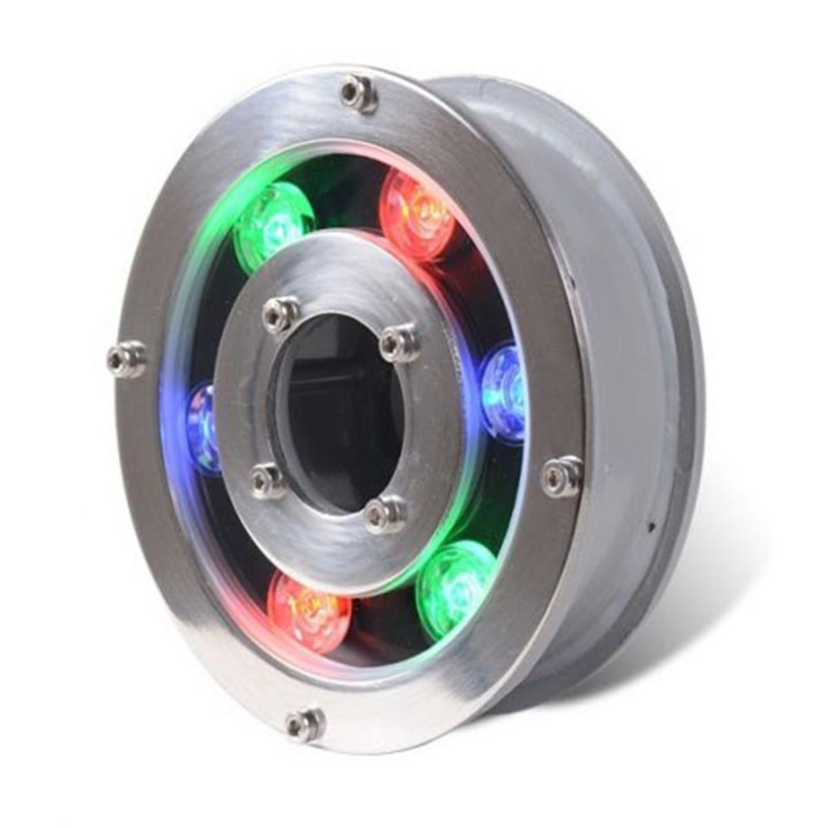 Đèn LED âm nước dạng bánh xe 6W đổi màu 12VAC - Đèn âm nước có lỗ 6w cao cấp - 18572536 , 4445904715197 , 62_21169204 , 700000 , Den-LED-am-nuoc-dang-banh-xe-6W-doi-mau-12VAC-Den-am-nuoc-co-lo-6w-cao-cap-62_21169204 , tiki.vn , Đèn LED âm nước dạng bánh xe 6W đổi màu 12VAC - Đèn âm nước có lỗ 6w cao cấp
