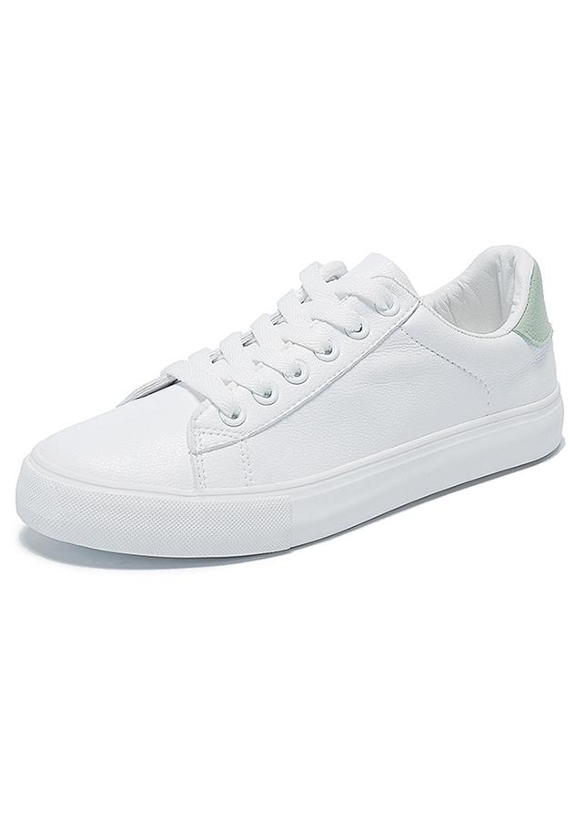 Giày Sneaker Nữ Form Thon Gọn, Gót Quả Dứa Dễ Thương HAPU