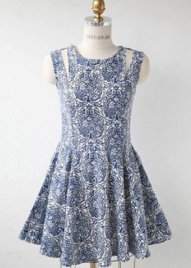 Đầm hoa văn 011211