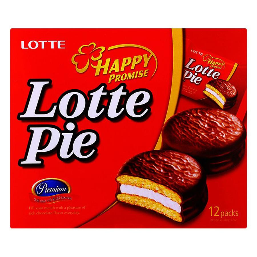 Bánh Lotte Pie (360g) - 899181 , 8934609202799 , 62_1646763 , 47000 , Banh-Lotte-Pie-360g-62_1646763 , tiki.vn , Bánh Lotte Pie (360g)