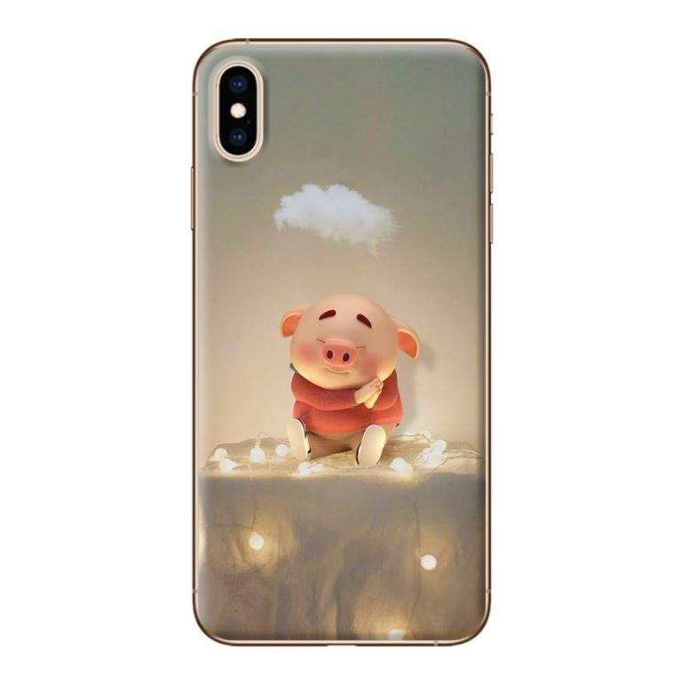 Ốp Lưng Dành Cho Các Dòng iPhone Mẫu Heo Dễ Thương Tết - Mã 106