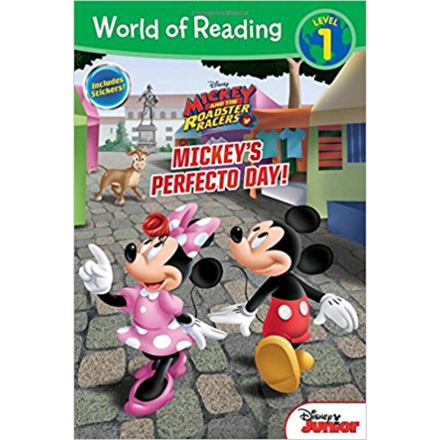 World Of Reading Mickey And The Roadster Racers