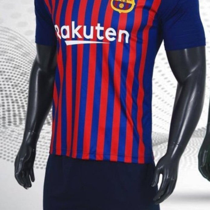 Bộ quần áo đá bóng quấn áo thể thao nam đội CLB BARCA sân nhà 2019