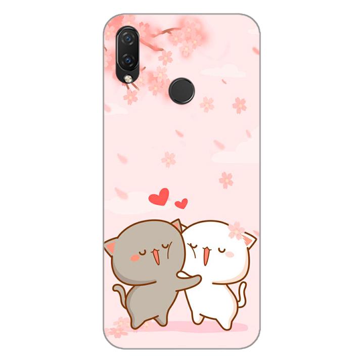 Ốp lưng dẻo cho điện thoại Huawei Nova 3i_0509 LOVELY05 - Hàng Chính Hãng